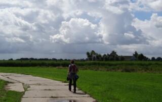 wandelvrouw
