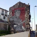 Porto muurschildering