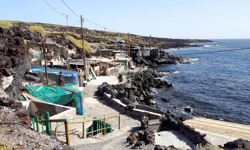 Vissershuisjes Malpais de Güimar Tenerife