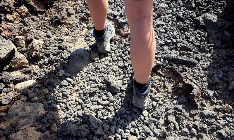 lopen over lava. Tenerife