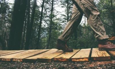 wandelen met pijnlijke knieen
