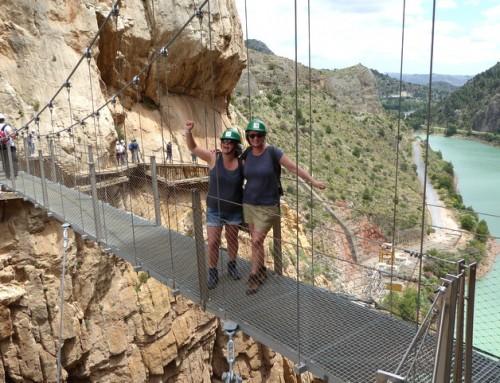 Een weekend wandelen in Andalusië, Spanje