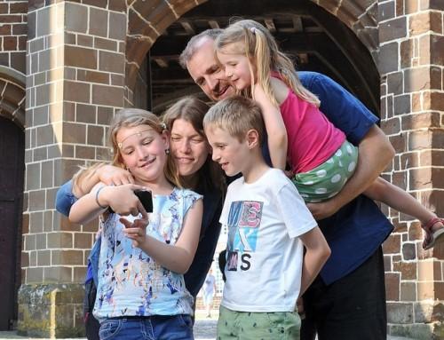 Wandelen met kinderen, gebruik de Vossenstreken-app