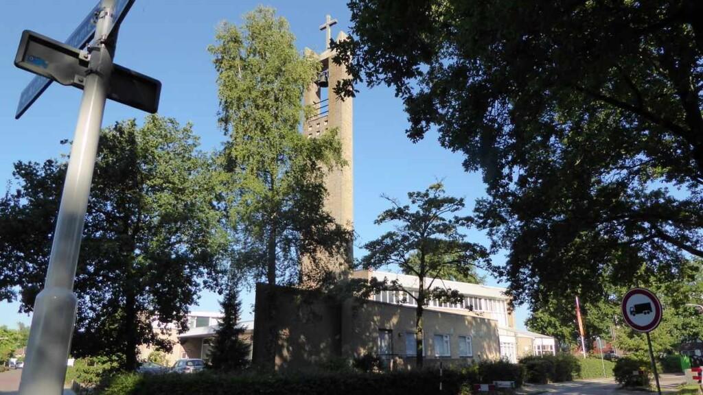 De ontmoetingskerk in Beesterzwaag