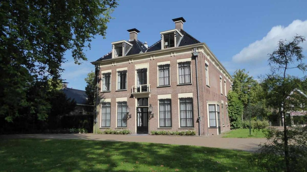 Lanterfanten in Beetsterzwaag - achterzijde Lyckemahuis