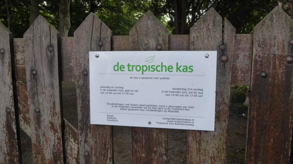 Lanterfanten in Beetsterzwaag - openingtijden Tropische Kas