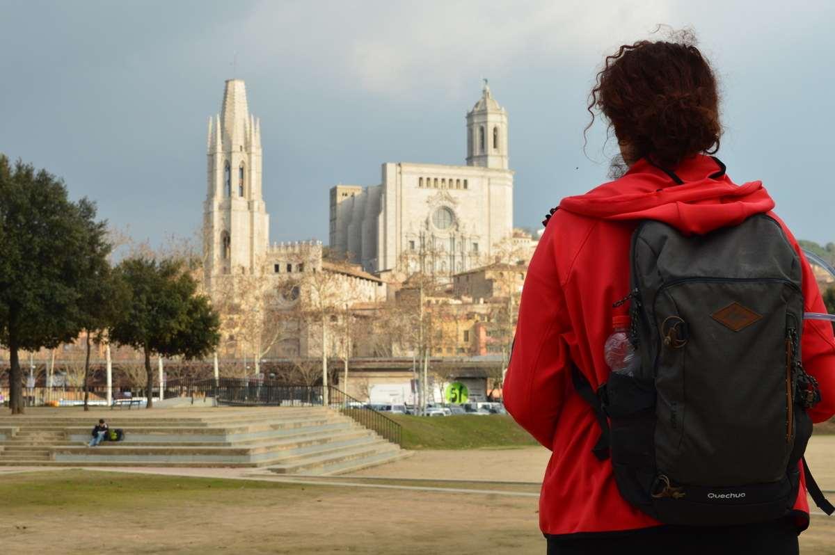 Wandel4daagse in Girona.