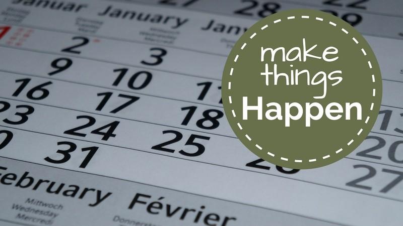 make things happen. Wandelvrouw wandelagenda