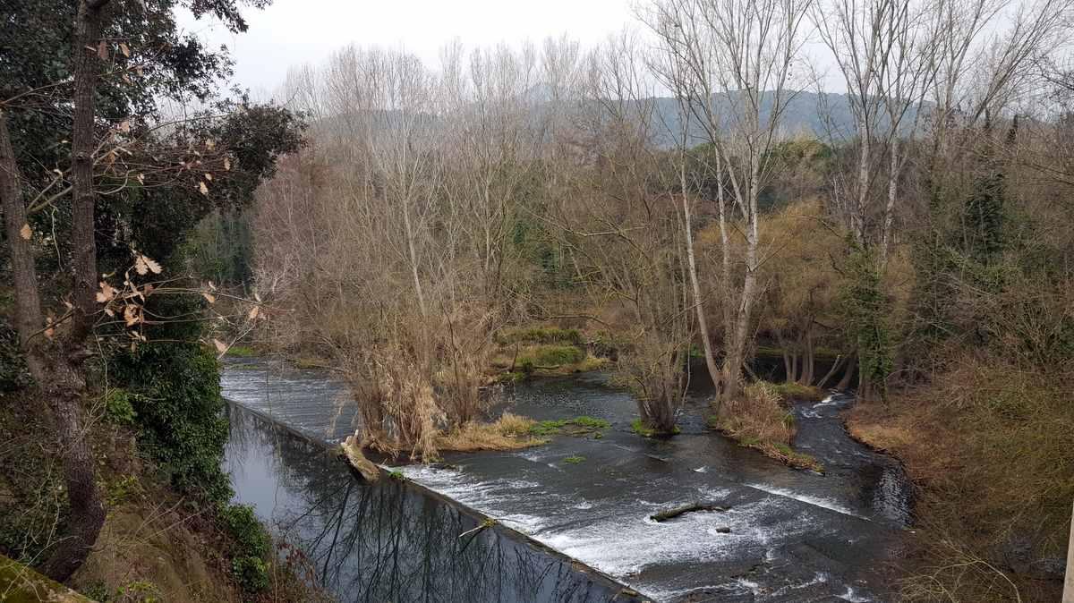 Rivier Ter, provincie Girona Spanje