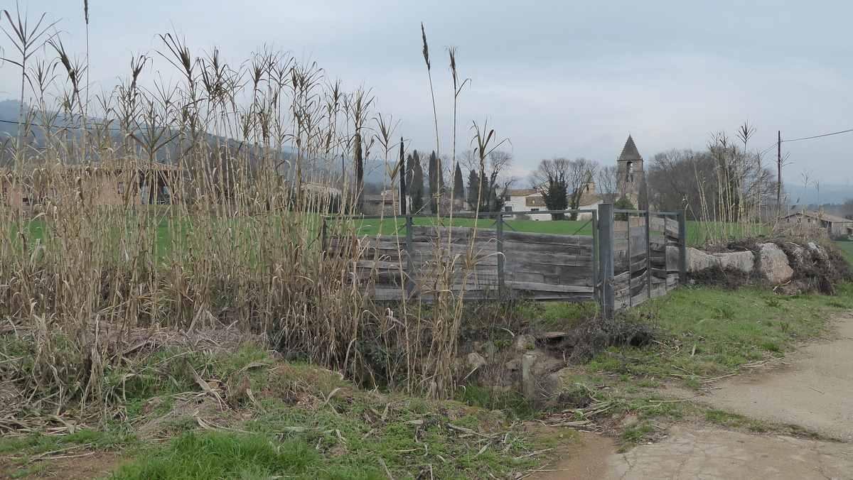 Landschap Provincie Girona - Spanje - wandel 4 daagse Girona