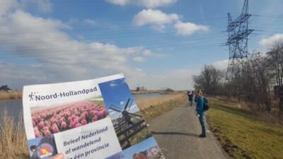 Alternatieve route Noord-Hollandpad etappe 10 Eilandspolder