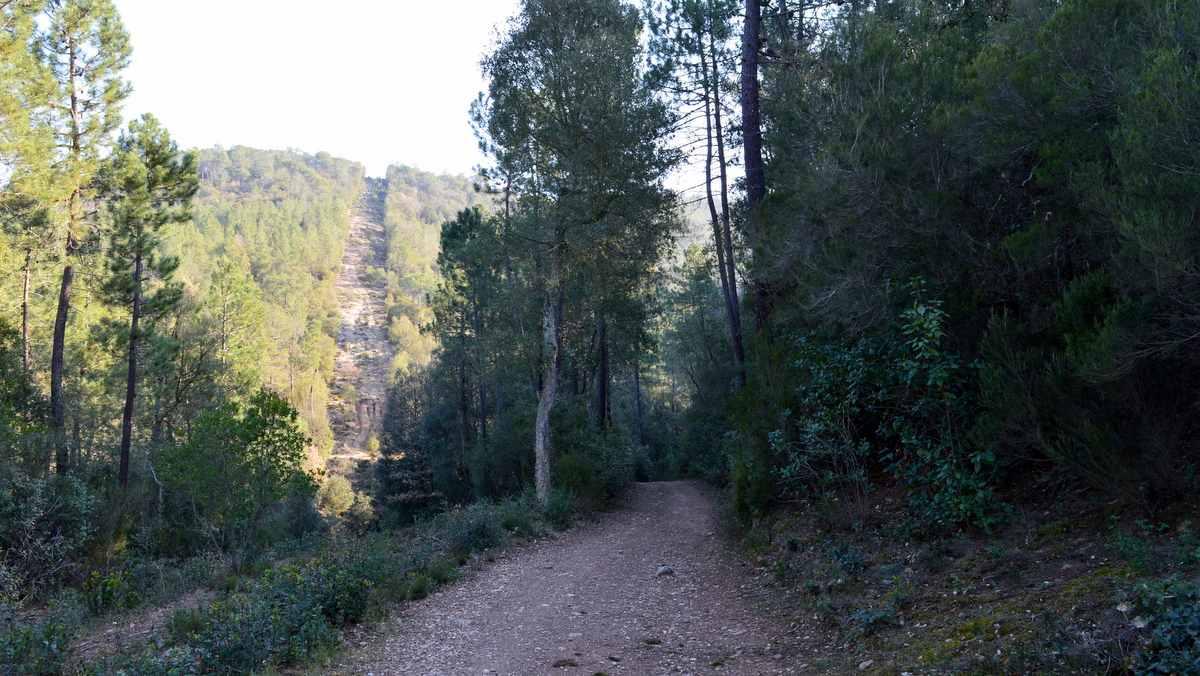 De route van de wandel 4 daagse van Girona