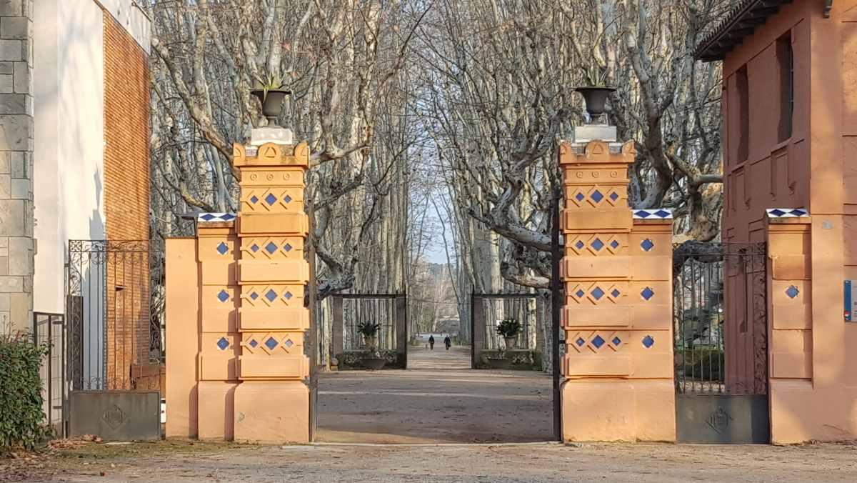 Ingang park Devesa - Girona