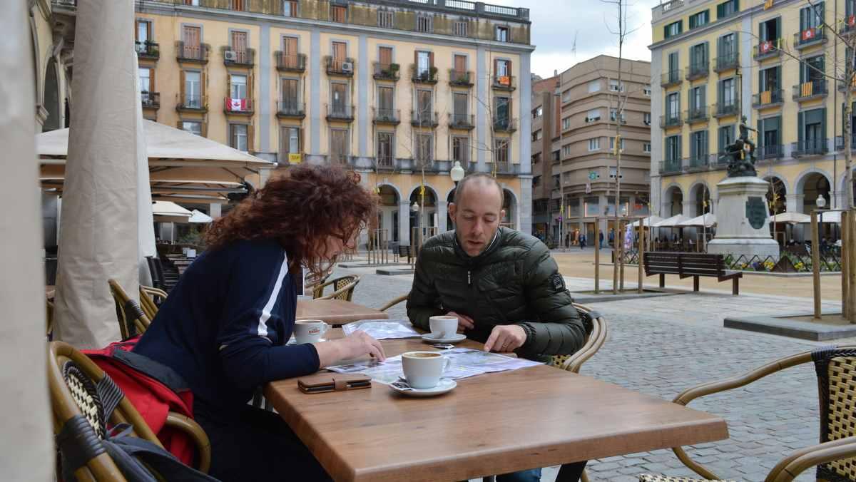 Plaza de la Independencia - Girona