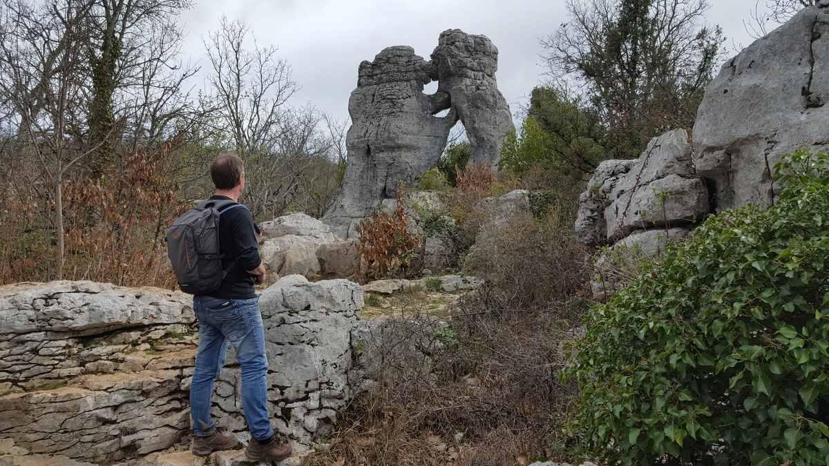 Bois de Païolive, L'Ours et Le Lion