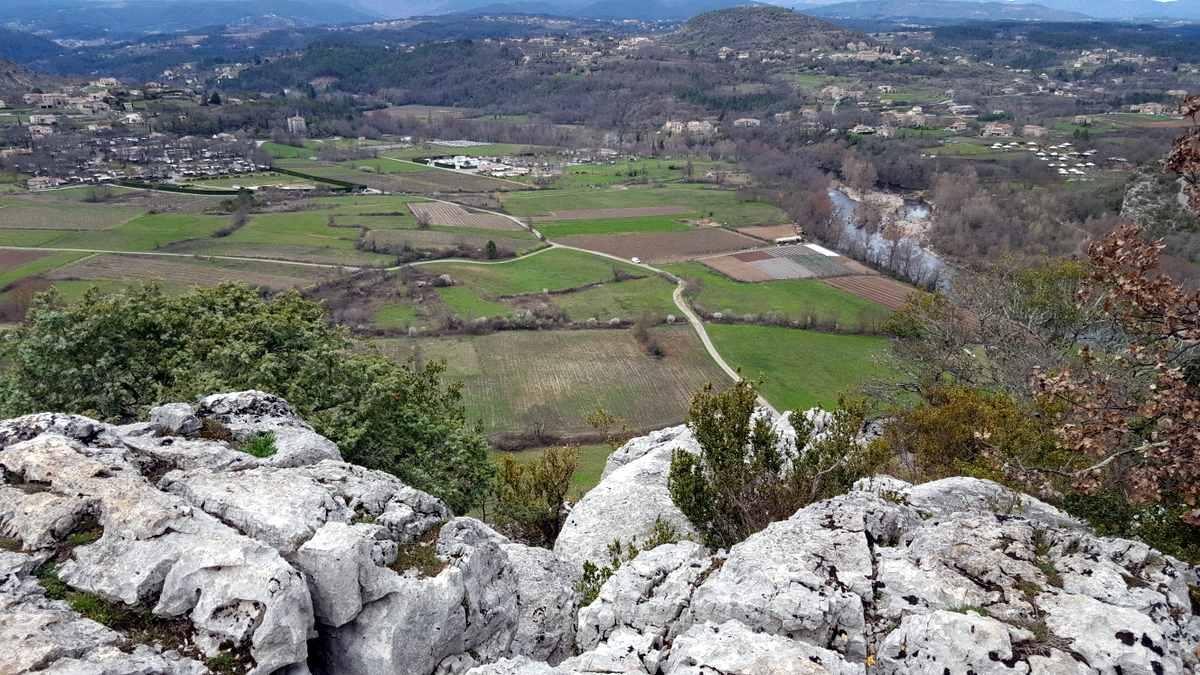 Bois de Païolive, view