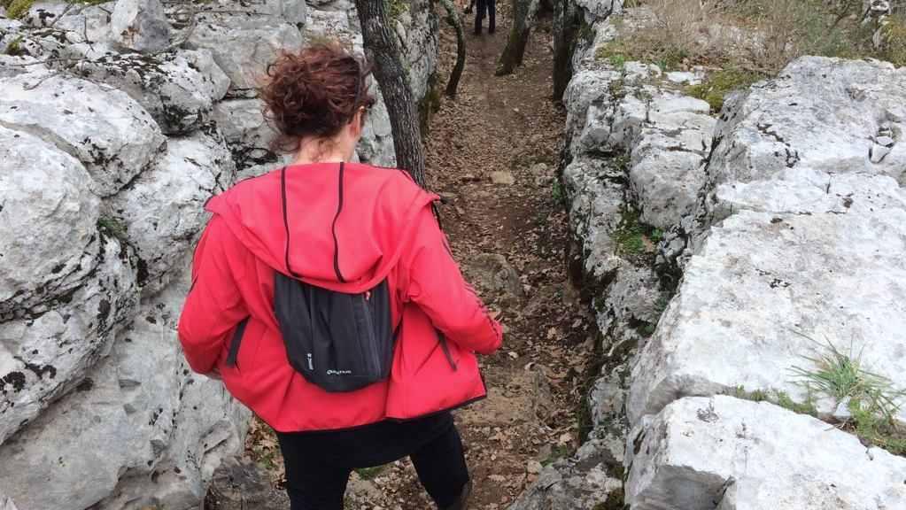 Wandelen in Bois de Païolive