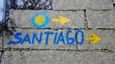 Op weg naar santiago