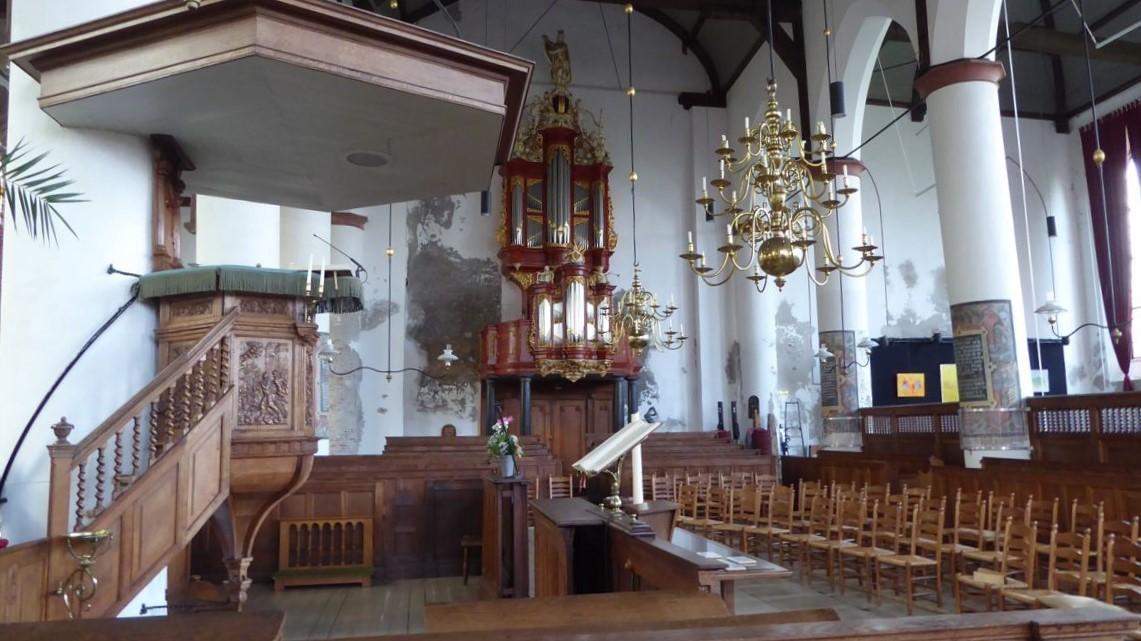 Bonifatiuskerk Medemblik interieur