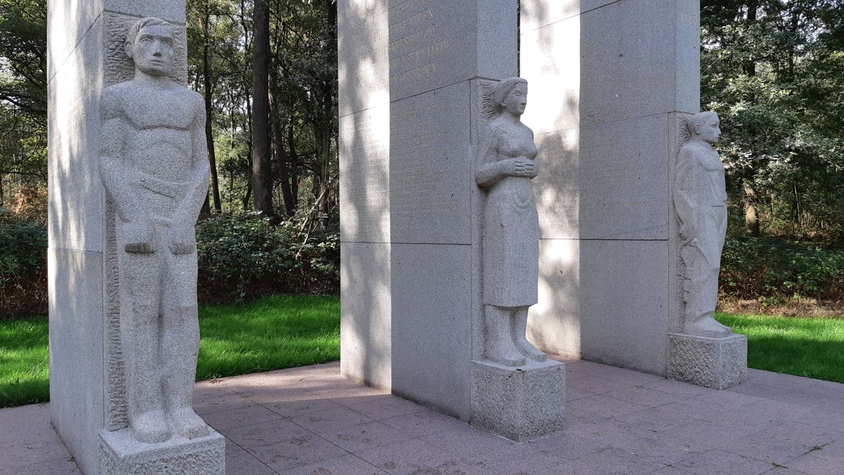 Verzetsmonument - Twentse Wallen - Markelo