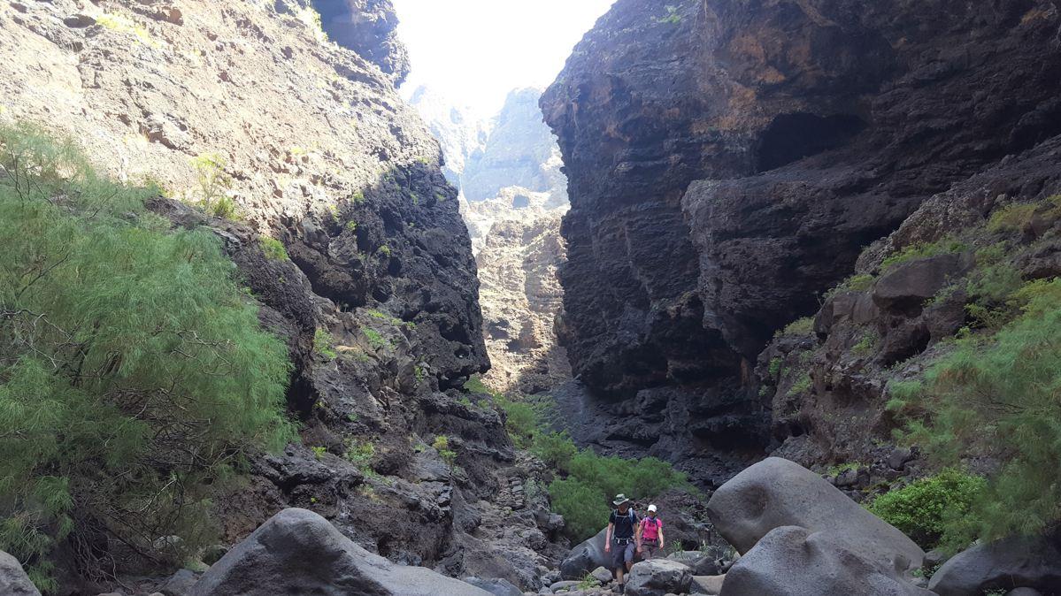 Masca kloof Tenerife