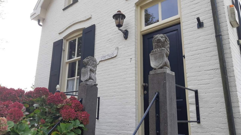 Het veerhuis - IJsselmonde - oude Maas