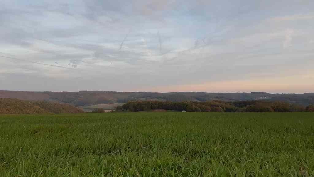 Naturlagerplatz 'Land in Sicht' - uitzich