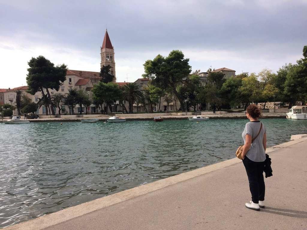 Kroatie - Stadswandeling Trogir - zicht op stad
