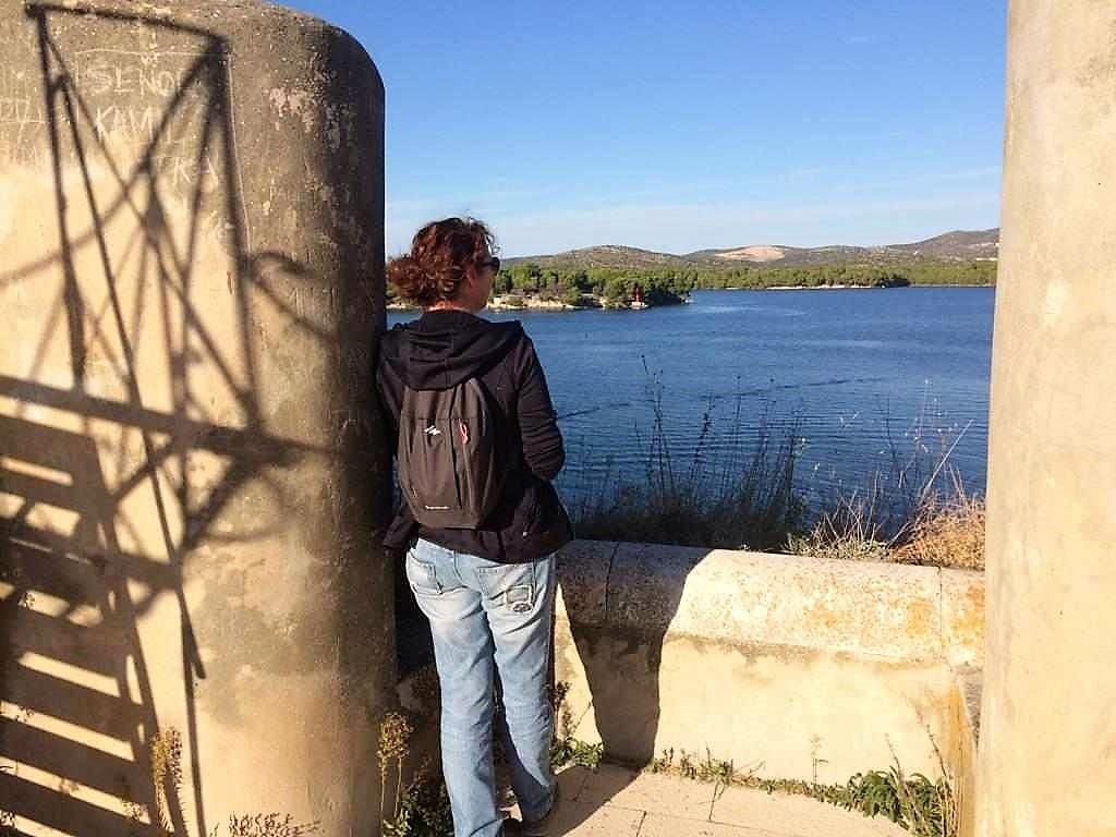 uitkijken over het kanaal van Sveti Ante