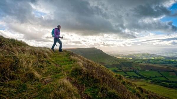 Wandelen in Brecon Beacons - Wales