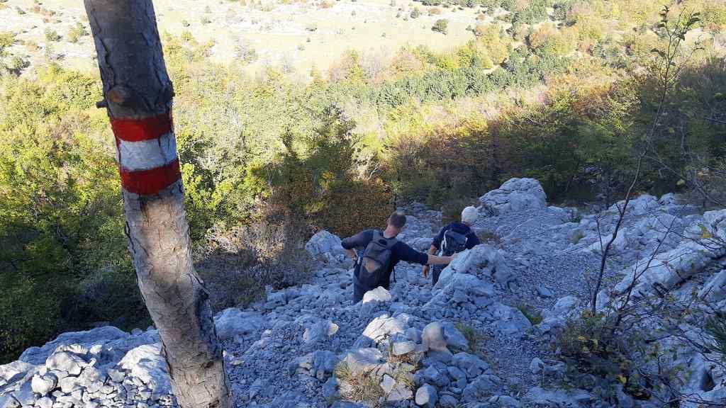Wandelen in Veliko Rujno in het Velbitgebergte