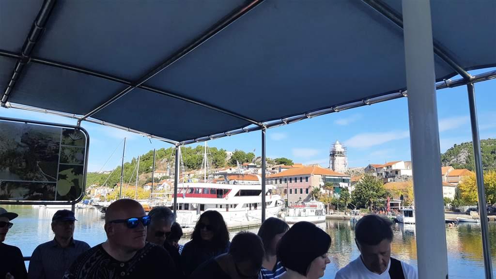 Skradin - boot naar Krka watervallen