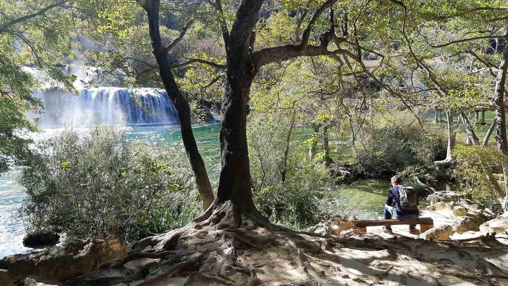 Krka watervallen