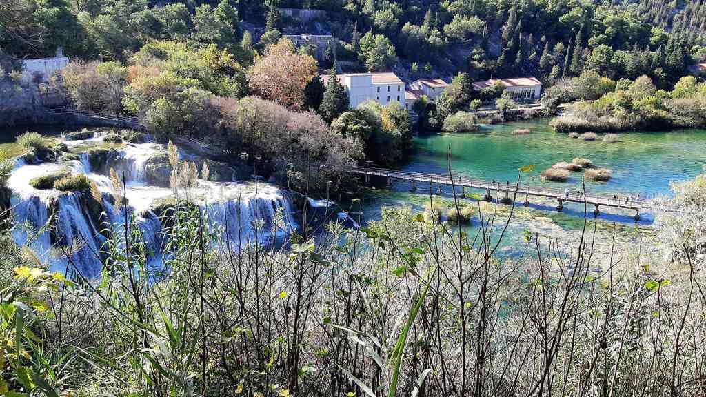 Krka watervallen - Kroatië
