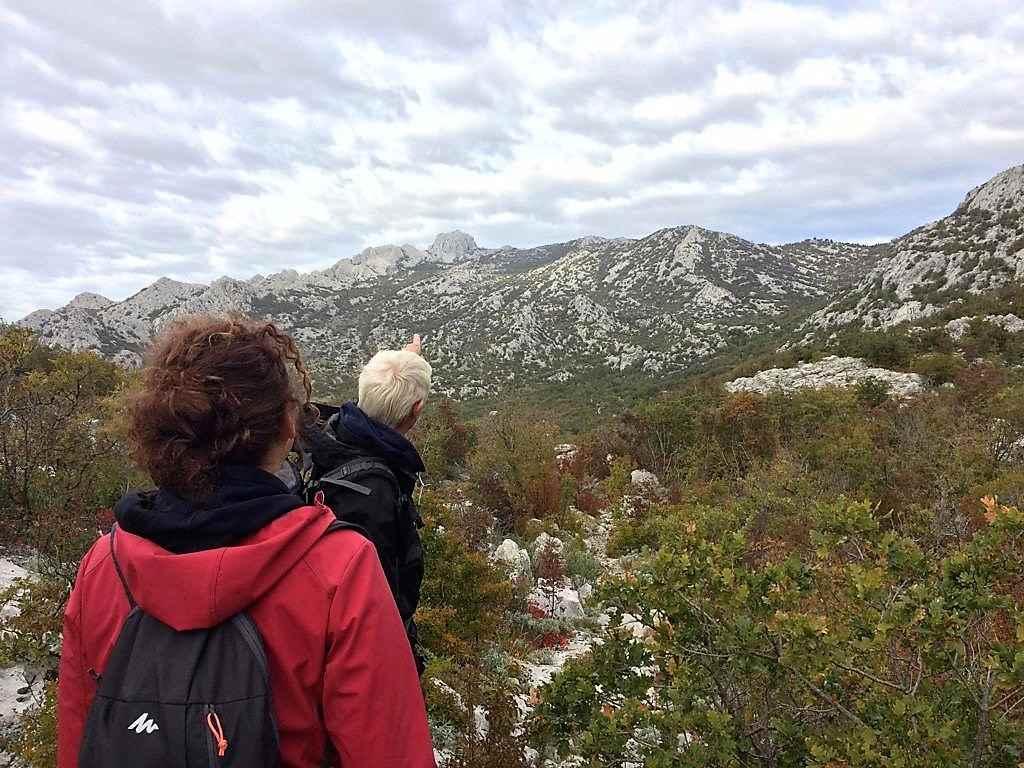 Op weg naar Bojin kuk, Nationaal Park Paklenica - Bojinac