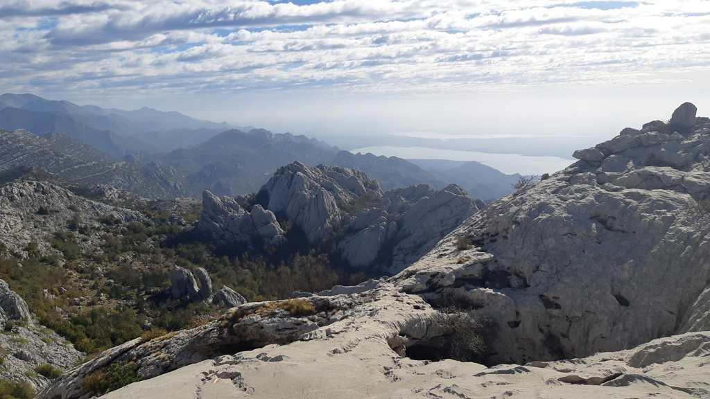 Nationaal Park Paklenica - Bojinac - Op weg naar Bojin kuk