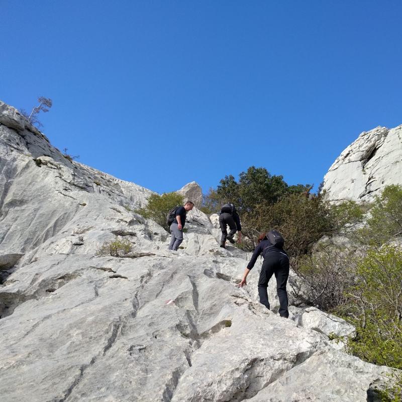 Bojin kuk - Op weg naar de top