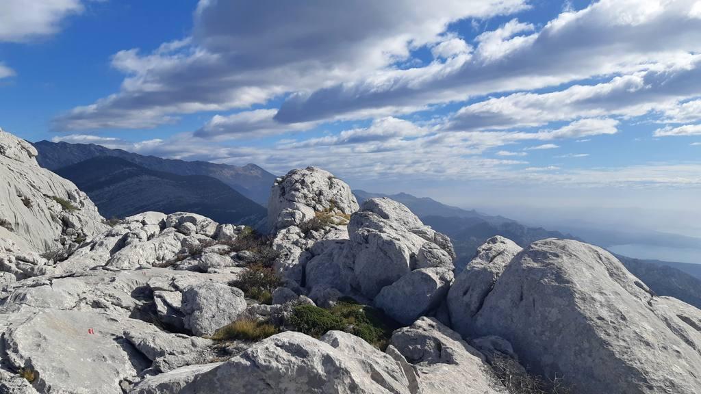 Op de top van Bojin kuk