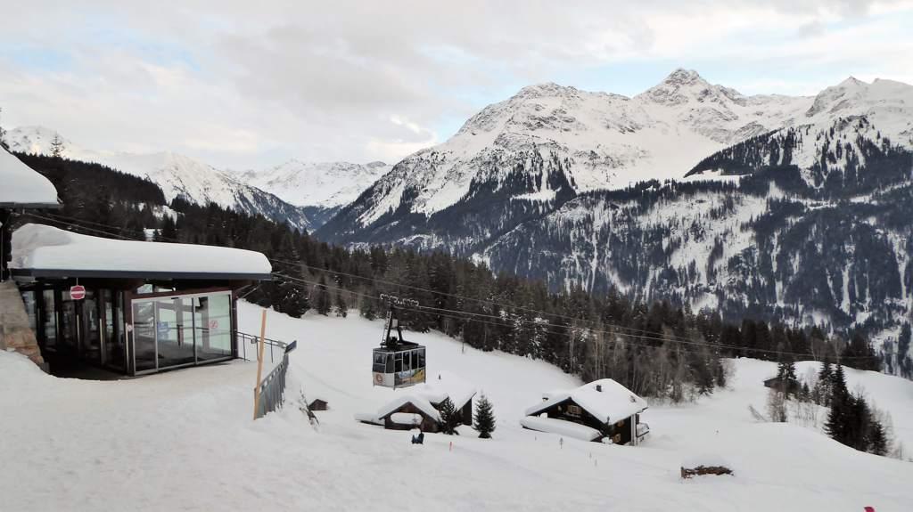 Kristbergbahn - Silbertal - Montafon