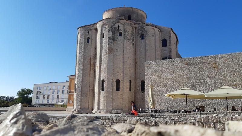 Stadwandeling Zadar - Sint-Donatuskerk