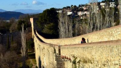 De Vierdaagse van Girona - de stadsmuur