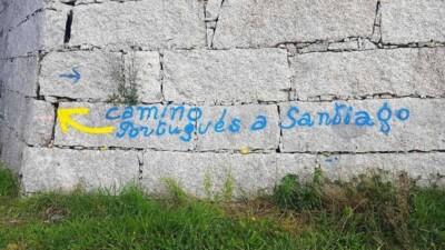 wegwijzer Camino Portugués