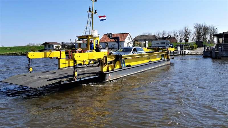Noord-Hollandpad etappe 4: Wandelen van Julianadorp naar Wieringenwaard - veerpont over