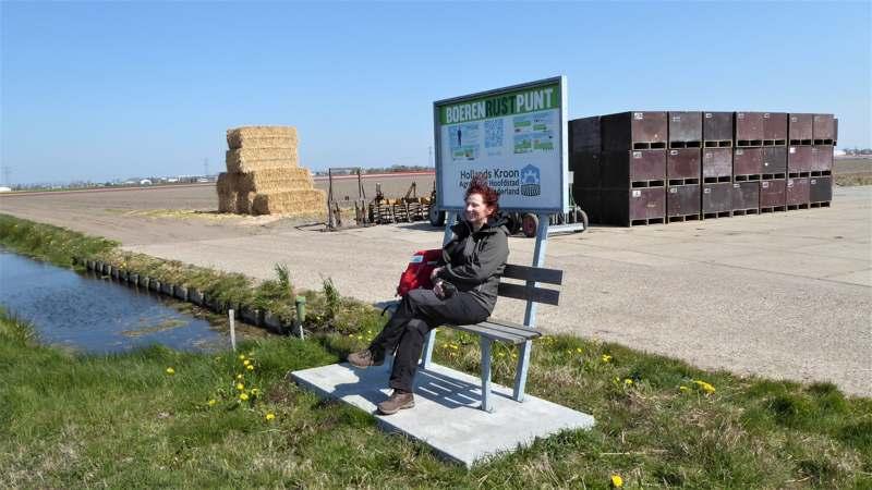 Noord-Hollandpad etappe 4: Wandelen van Julianadorp naar Wieringenwaard - boerenrustpunt