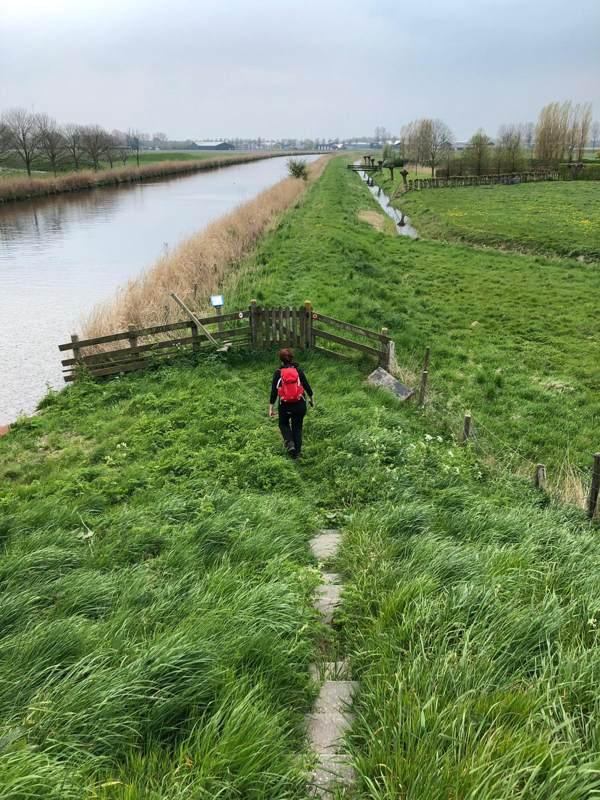 Wandelen van Kolhorn naar Obdam - Noord-Hollandpad