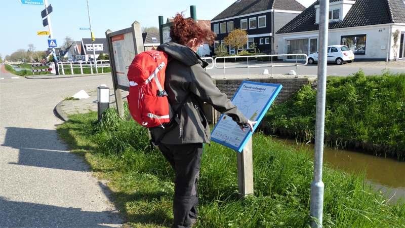 Noord-Hollandpad etappe 4: Wandelen van Julianadorp naar Wieringenwaard startpunt