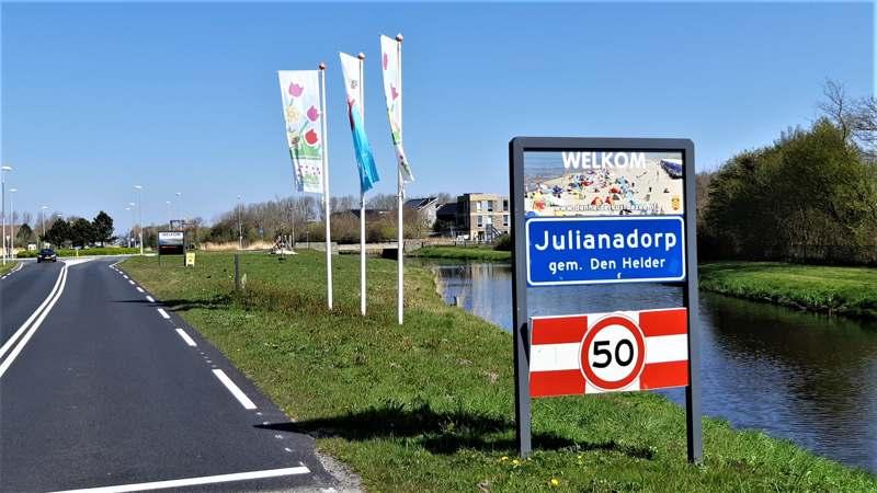 Plaatsnaambord Julianadorp