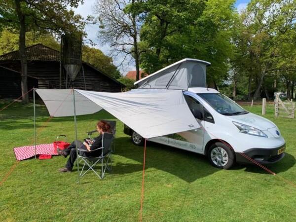 Op stap met de e-camper in Overijssel