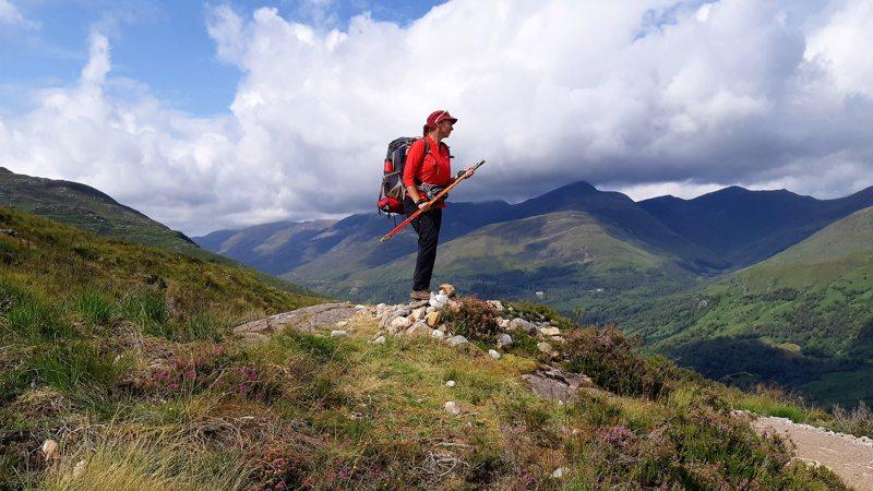 View over de West Highland Way