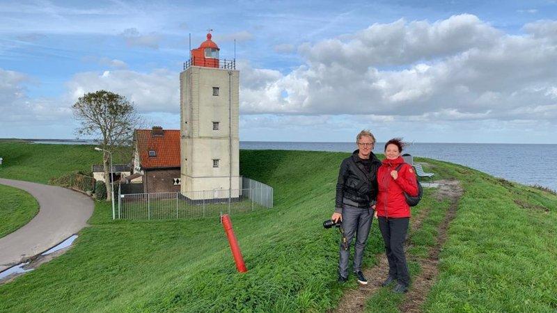 Nieuw streekpad Westfriese omringdijk gaat langs vuurtoren de Ven